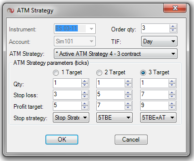 E mini futures trading strategies ninjatrader